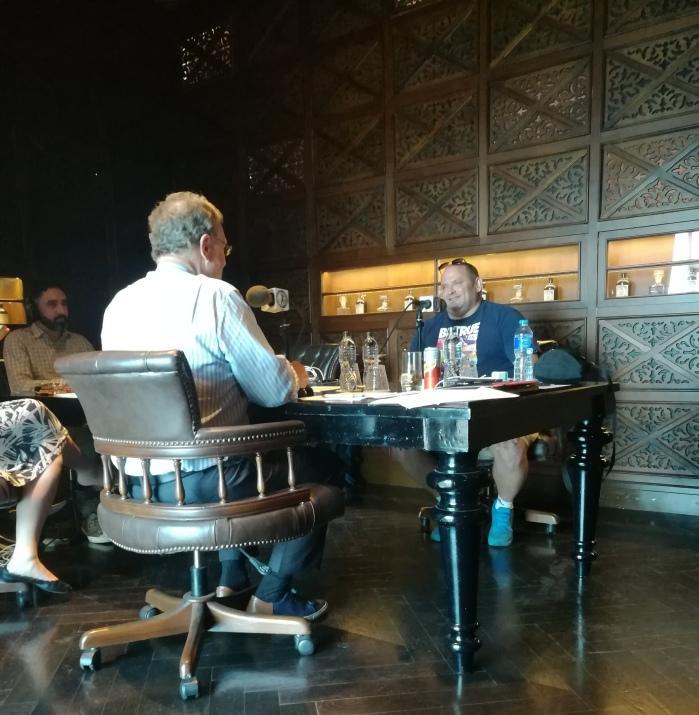 Peter Greenberg interviewing Scott Mallon