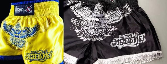 hayabusa muay thai shorts garuda