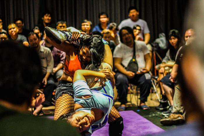 gatoh move wrestling women