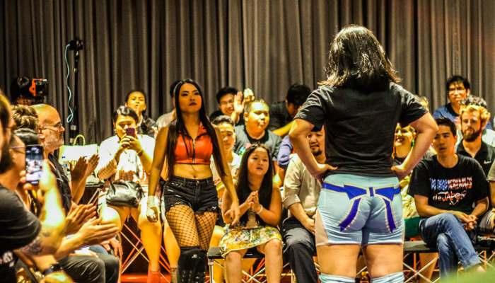 wrestling women thailand