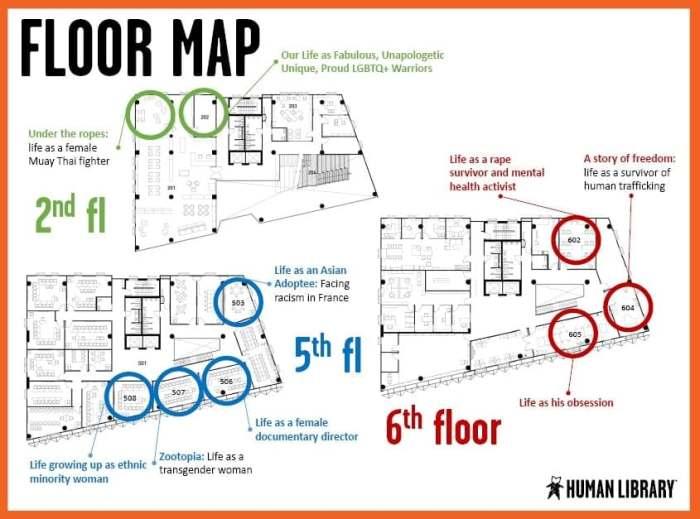 human library bangkok map